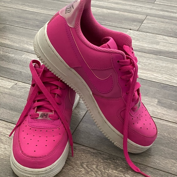 Alfabeto en Razón  Nike Shoes | Nike Air Force 7 Hot Pink Trainers | Poshmark